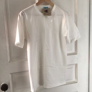 Champion Heritage Tee White size small NWT